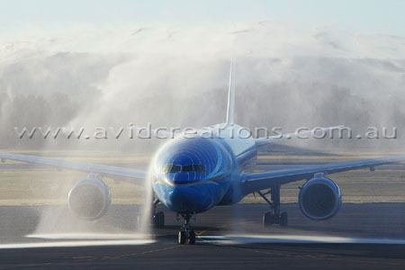 Water Cannon Arrival