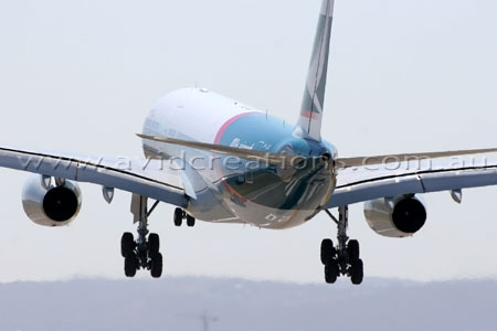 100th Cathay Pacific aircraft