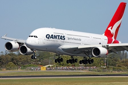 A380 in Adelaide