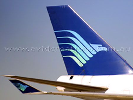 Tail and winglet.