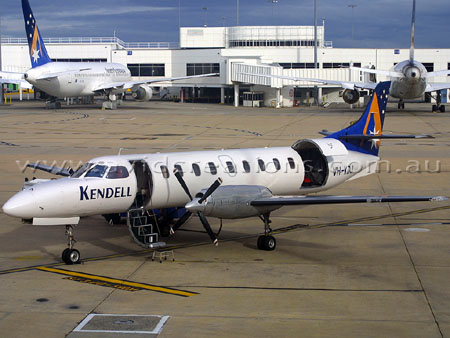 Regional carrier Kendell Airlines.